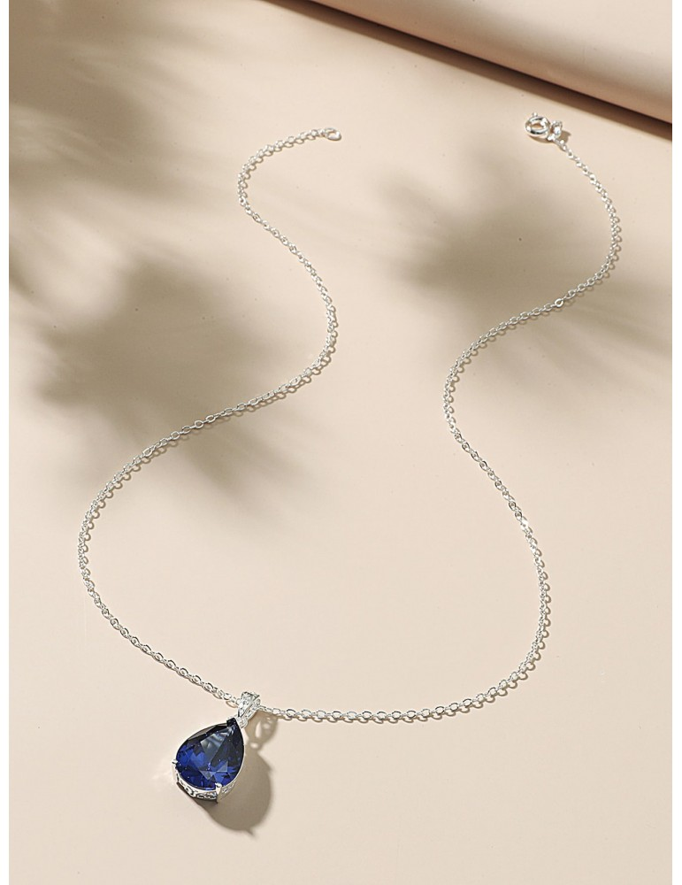 Water Drop Charm Necklace